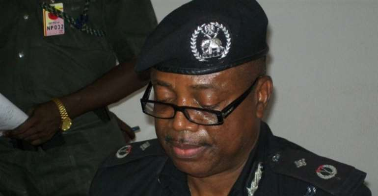 PHOTO: MR IKECHUKWU ADUBA, PLATEAU STATE POLICE COMMISSIONER.