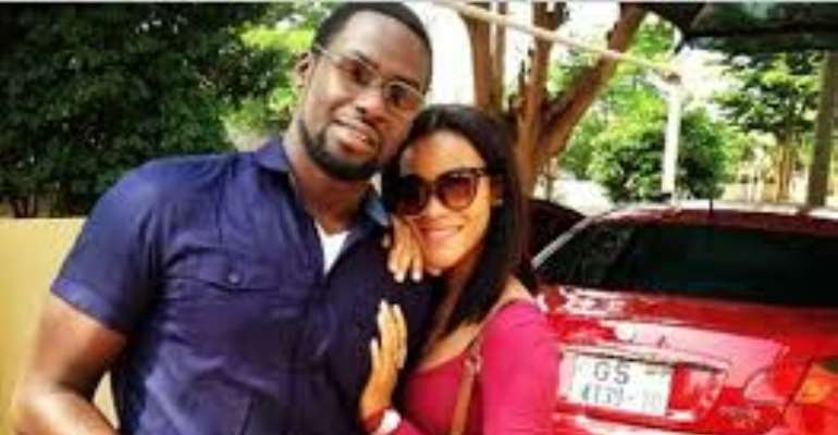 Chris Attoh, Damilola celebrate love