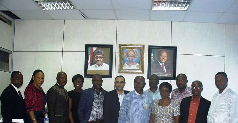 PHHCIMA Delegation in a group pix with the R/S Agric commissioner and strategic officers.