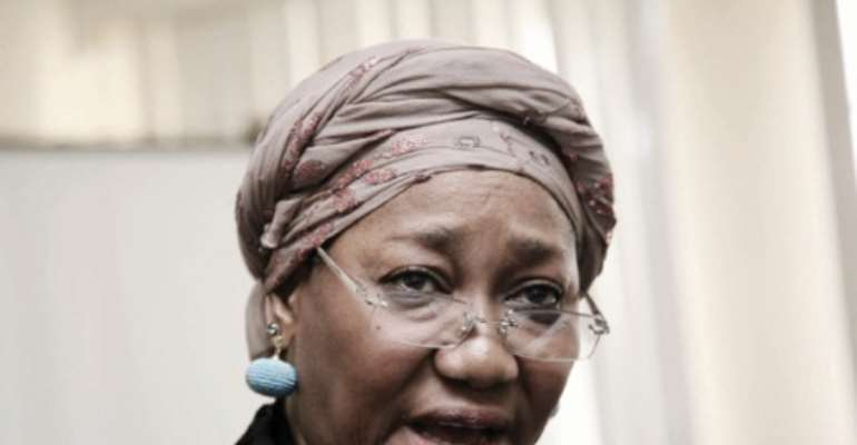 EFCC CHAIRMAN, MRS FARIDA WAZIRI.