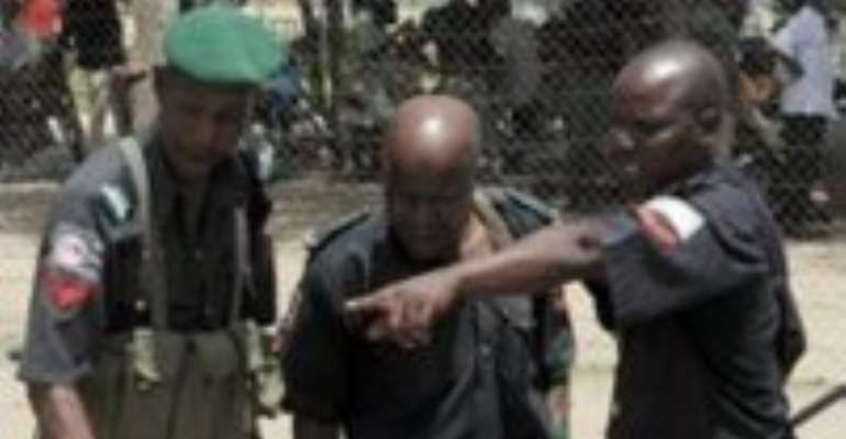 Security forces poured into Maiduguri earlier in the week.