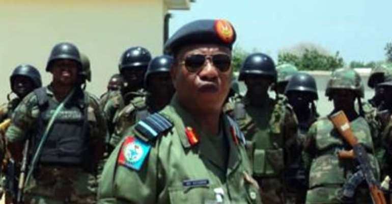 CHIEF OF DEFENCE STAFF (CDS), AIR CHIEF MARSHAL OLUSHEYI PETINRIN