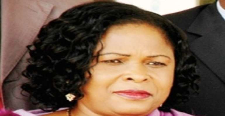 PHOTO: NIGERIA'S FIRST LADY, DAME PATIENCE JONATHAN.