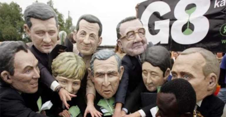 PHOTO: DOES THE G8 REALLY MEAN WELL FOR AFRICA?