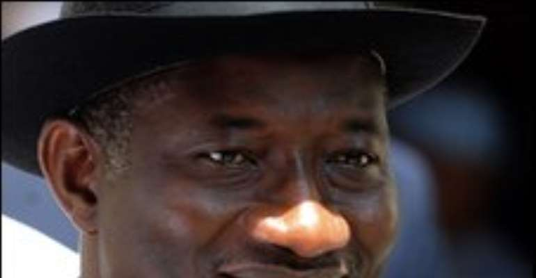 Mr Jonathan's last contact with the president was on 26 November