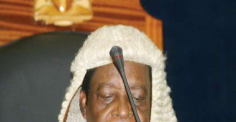 PHOTO: CHIEF JUSTICE, SUPREME COURT OF NIGERIA, JUSTICE ALOYSIUS KATSINA-ALU.