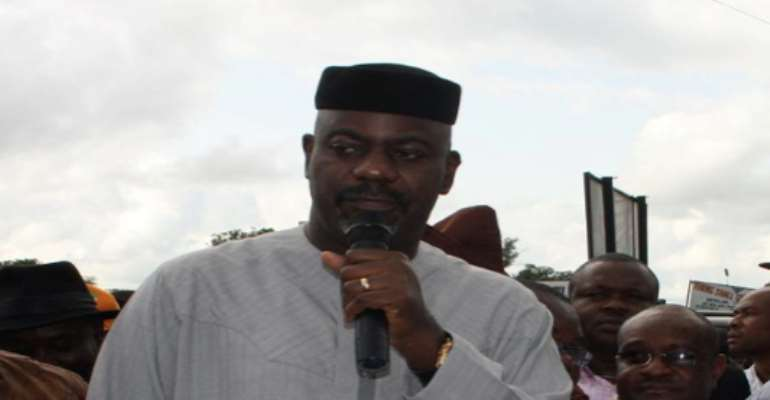 PHOTO: GOVERNOR LIYEL IMOKE OF CROSS RIVER STATE.