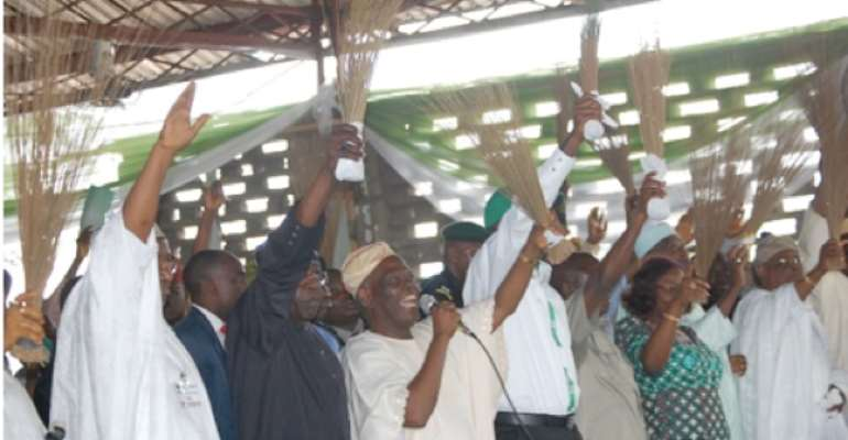PHOTO: ACTION CONGRESS OF NIGERIA (ACN) LEADERS.
