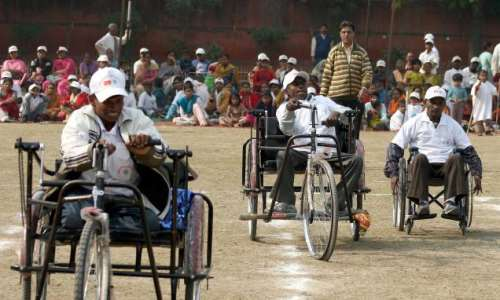 how can we help physically challenged persons