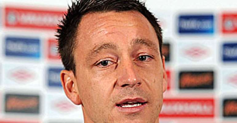 JOHN TERRY: DEFENDER SAYS THAT HE WILL NEVER STAND DOWN AS ENGLAND CAPTAIN