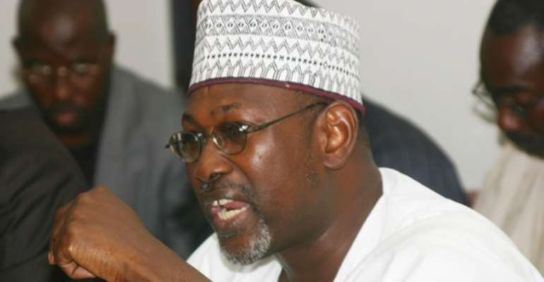 PHOTO: INEC CHAIRMAN, PROFESSOR ATTAHIRU JEGA.