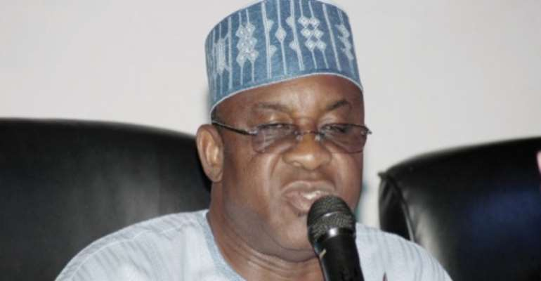 PHOTO: SENATE PRESIDENT, SENATOR DAVID MARK.
