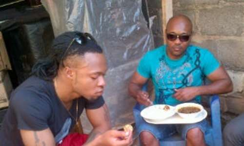 Flavour Nabania Caught Off Guard!