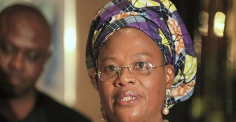 PHOTO: INFORMATION AND COMMUNICATIONS MINISTER, PROFESSOR DORA AKUNYILI IS LEADING THE REBRANDING NIGERIA PROJECT.