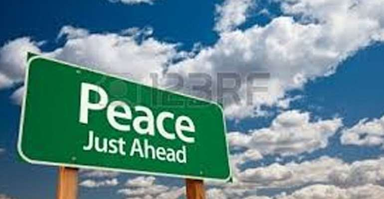 peace ahead