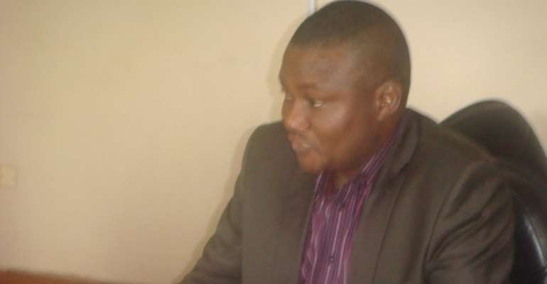 PHOTO: PLATEAU STATE COMMISSIONER FOR LOCAL GOVERNMENT AND CHIEFTAINCY AFFAIRS, MR CHRIS HASSAN.