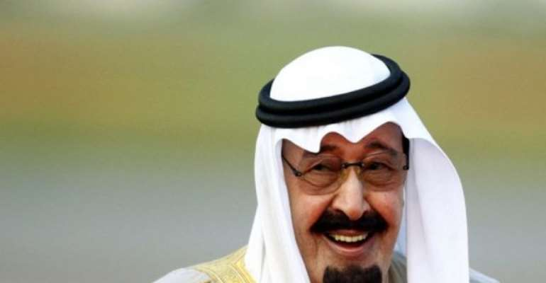 PHOTO: KING ABDULLAH BIN ABDULAZIZ, LEADER OF SAUDI ARABIA.