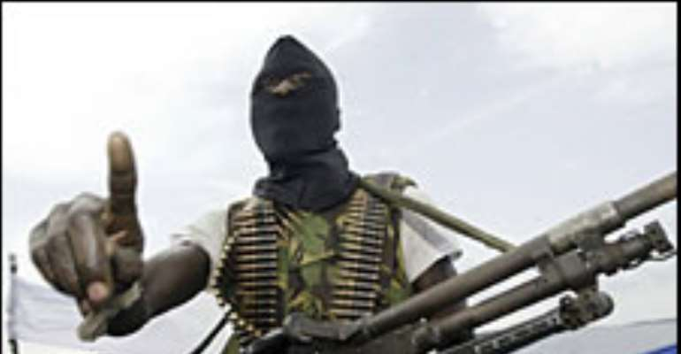 Militant action has severely cut Nigeria's oil output