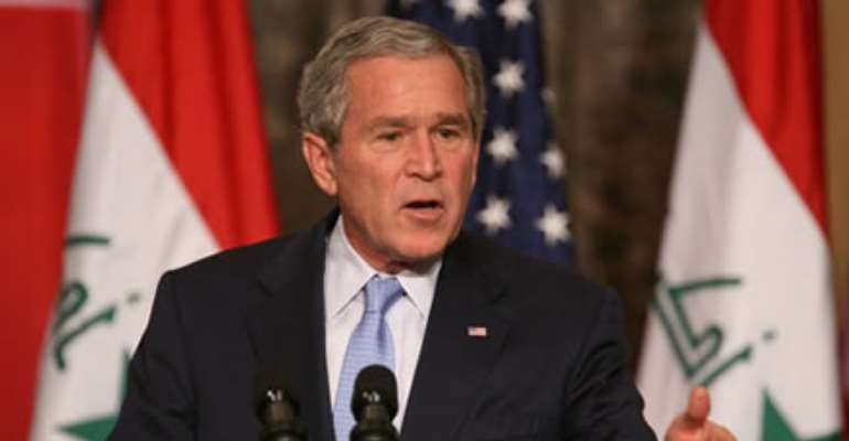 president George Bush shocking!