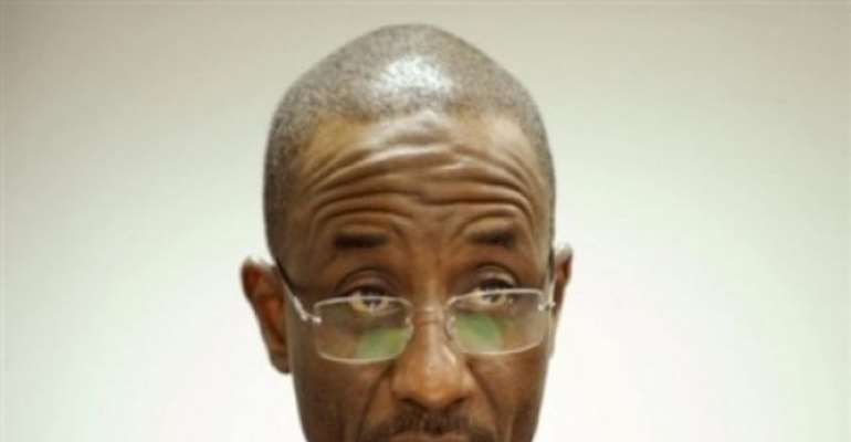PHOTO: CENTRAL BANK GOVERNOR LAMIDO SANUSI.
