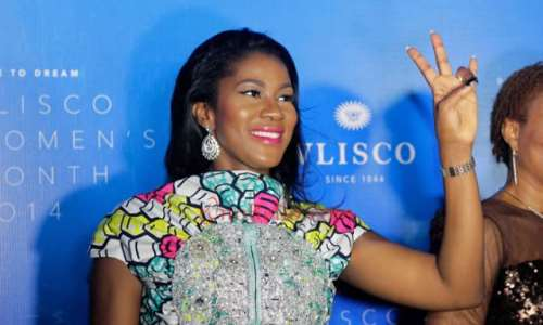 Checkout Stephanie Okereke S Mon Ami Dress At The Vlisco Women S Month Award