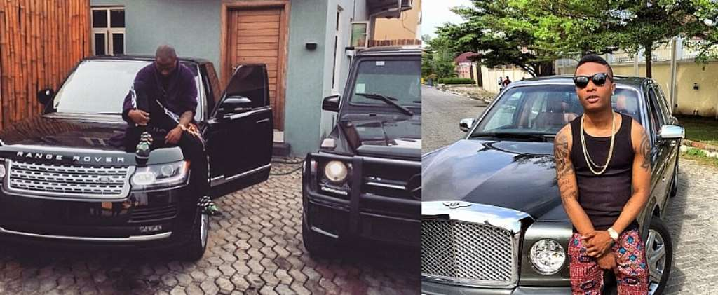 Davido In Fierce Competition With Wizkid On Number Of Car Acquisitions?