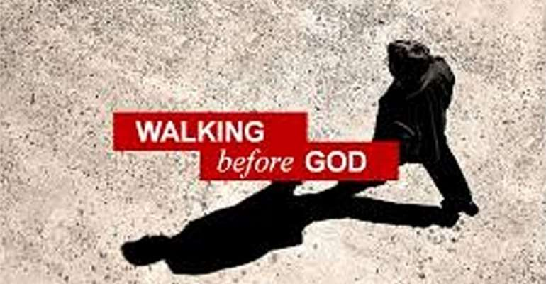 walking b4 God
