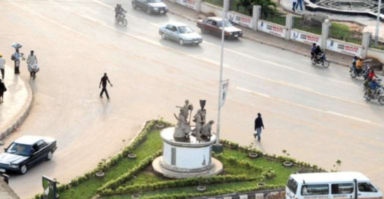 PHOTO: THE NEW LOOK RING ROAD, BENIN CITY, EDO STATE.