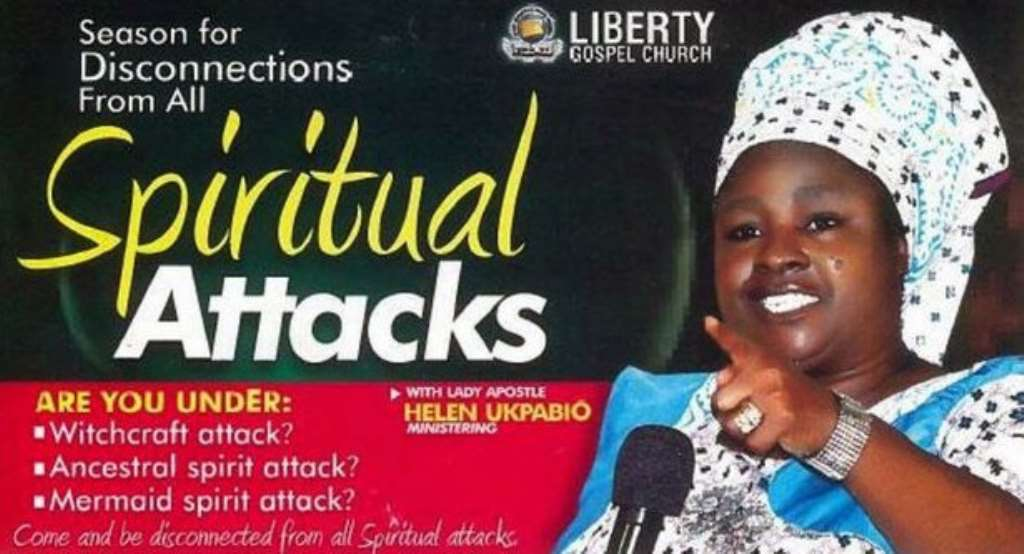 Nigeria's Infamous Witch-Hunter, Helen Ukpabio Chased Out Of UK