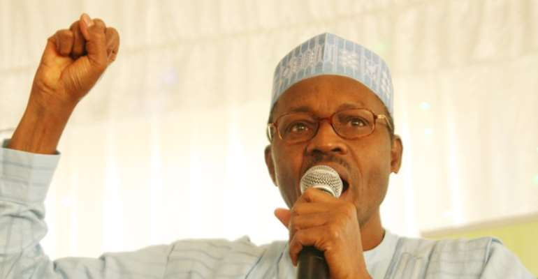 FORMER HEAD OF STATE AND PRESIDENTIAL CANDIDATE OF THE CPC, GENERAL MUHAMMADU BUHARI.