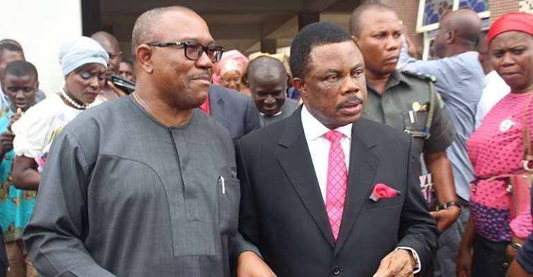 Peter Obi and Obiano together