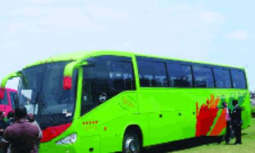 Scania Luxury Buses Unveiled In Lagos