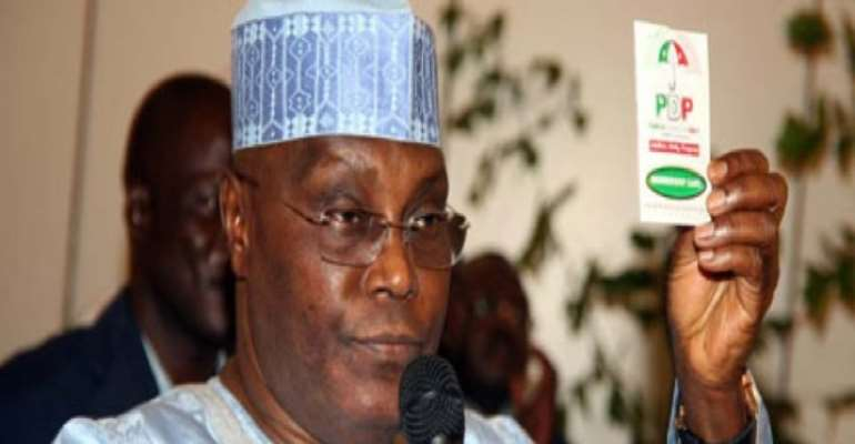 PHOTO: FORMER VICE PRESIDENT ATIKU ABUBAKAR.