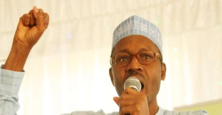 CPC'S PRESIDENTIAL CANDIDATE FOR THE APRIL 2011 PRESIDENTIAL ELECTION, GENERAL MUHAMMADU BUHARI.