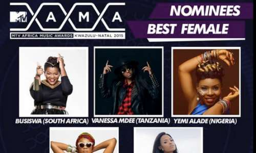 MTV MAMA 2015: Davido, Wizkid, Yemi Alade, Others Lead Nominations