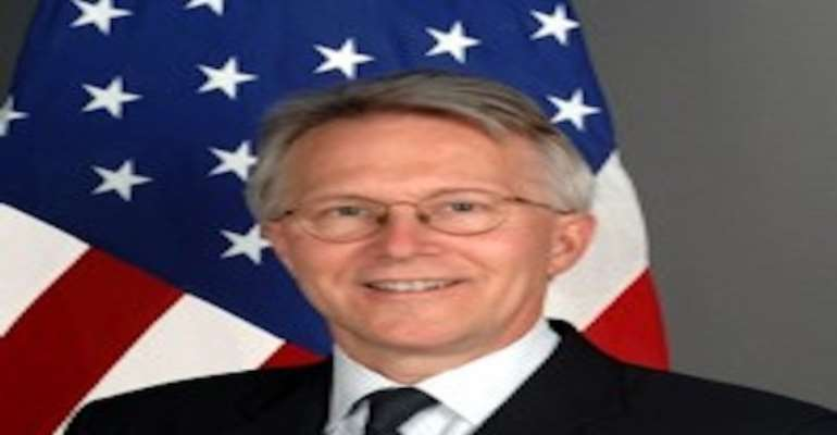 PHOTO: UNITED STATES AMBASSADOR TO NIGERIA, MR TERENCE P. MCCULLEY.