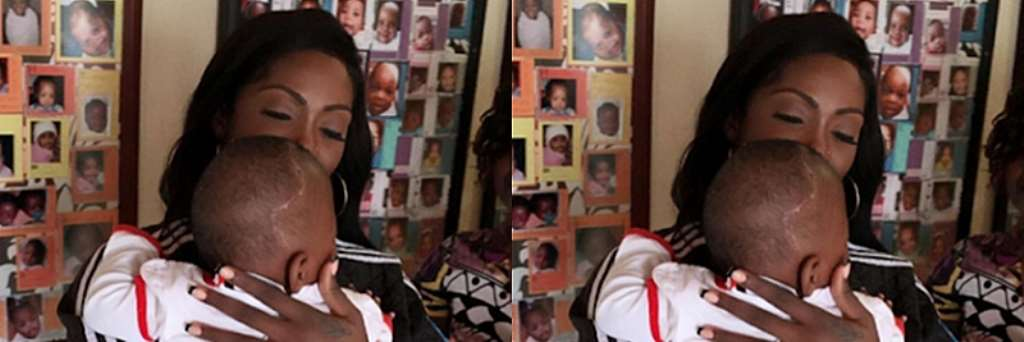 See How South-African Children Broke Tiwa Savage's Heart, Made Her