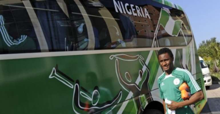 PHOTO: NIGERIAN MIDFIELDER JOHN OBI MIKEL WHO HAS RULED HIMSELF OUT OF THE WORLD CUP WITH A KNEE INJURY. Image: GETTYIMAGES.