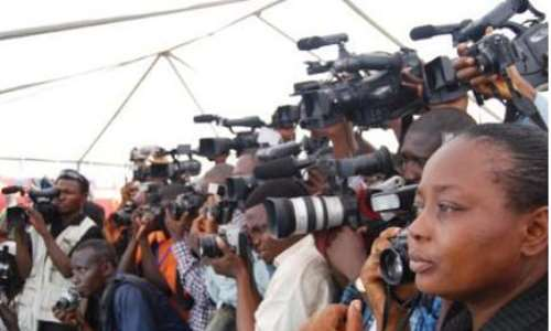 Journalists, Bloggers, And Media Workers ..photo credit - The Nigeria voice