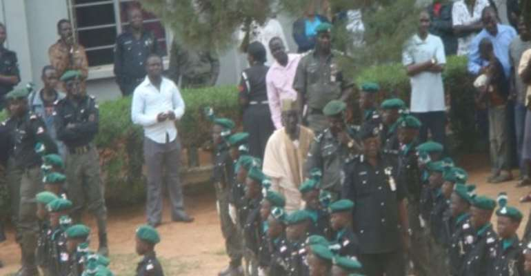 PHOTO: PUPILS OF POLICE CHILDREN, JOS DURING THEIR GRADUATION TODAY, JULY 22, 2010.