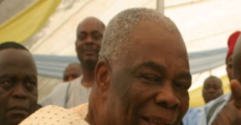 LATE FORMER VICE PRESIDENT, ADMIRAL AUGUSTUS AIKHOMU.