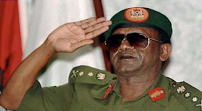 PHOTO: DECEASED NIGERIAN DICTATOR, GENERAL SANI ABACHA.