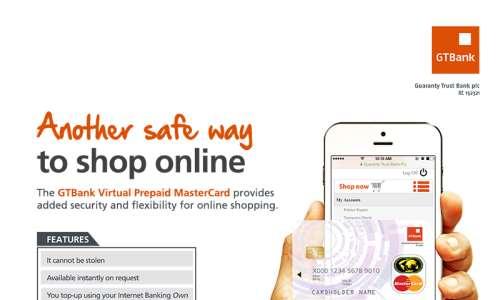 GTBank Unveils Nigeria's First Virtual MasterCard