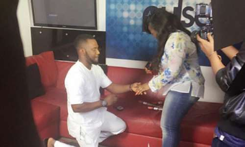 Actress, Bimbo Peters Gets Engaged
