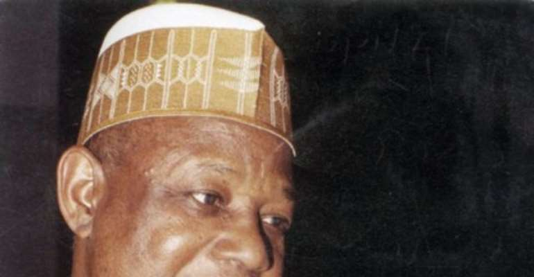 PHOTO: NATIONAL SECURITY ADVISER, NSA, RETIRED GENERAL ALIYU GUSAU.