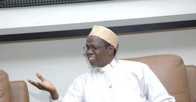 PHOTO: SECRETARY TO THE GOVERNMENT OF THE FEDERATION (SGF(, ALHAJI YAYALE AHMED.