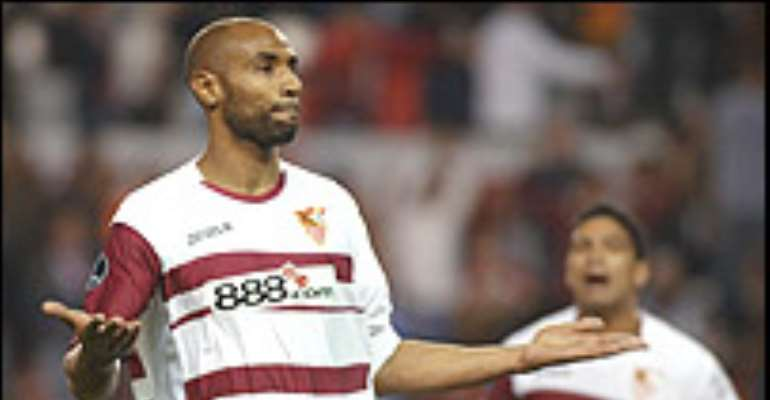 Kanoute ends his Nations Cup stay
