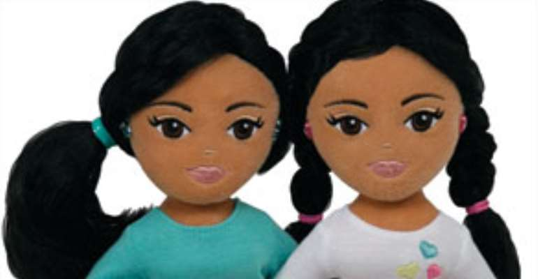 y, the maker of Beanie Babies, is introducing two new Ty Girlz dolls named Marvelous Malia and Sweet Sasha.
