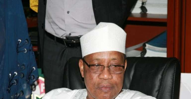 PHOTO: FORMER MILITARY DICTATOR, GENERAL IBRAHIM BABANGIDA.