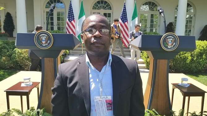 Why Buhari stopped over in London from US - Presidency